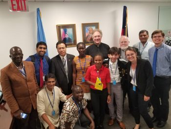 Salesian Participation in HLPF