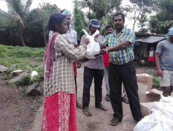 DB Trivandrum and Kismat flood relief activities in Wayanad
