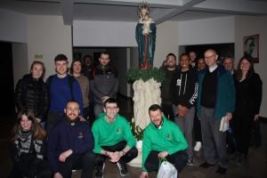 Saint Catherine's Society in Maynooth trip to Poland